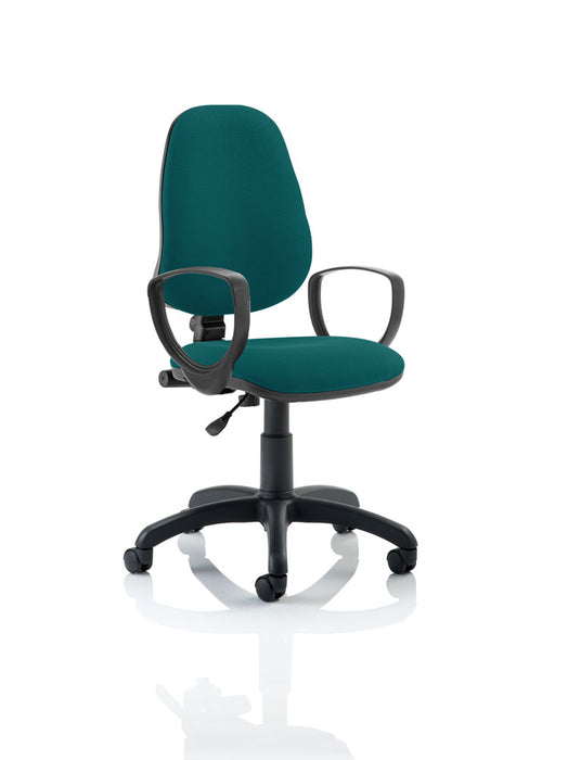 Eclipse I Lever Task Operator Chair Bespoke With Loop Arms