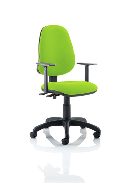 Eclipse II Lever Task Operator Chair Bespoke With Height Adjustable Arms