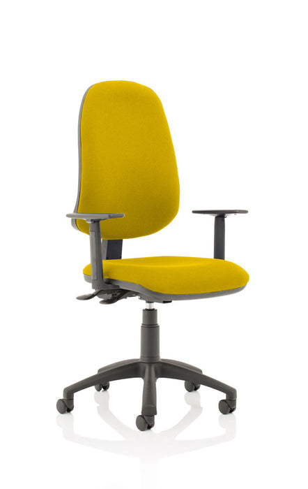 Eclipse XL Lever Task Operator Chair Bespoke With Height Adjustable Arms