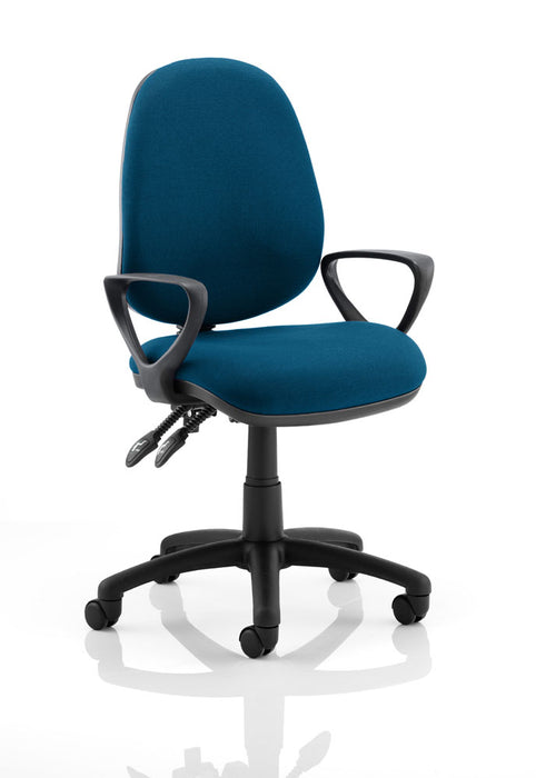 Luna II Lever Task Operator Chair Bespoke With Arms