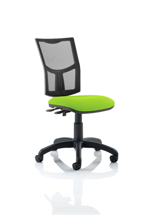 Eclipse II Lever Task Operator Chair Mesh Back With Bespoke Colour Seat