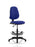 Eclipse I Lever Task Operator Chair Fully Bespoke Colour With Hi Rise Draughtsman Kit