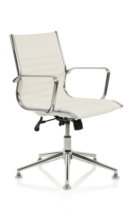 Ritz Executive Medium Back Chair Bonded Leather With Arms