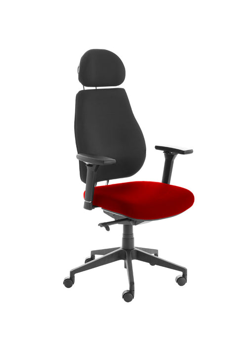 Chiro Plus Lite With Headrest Upholstered Seat Only