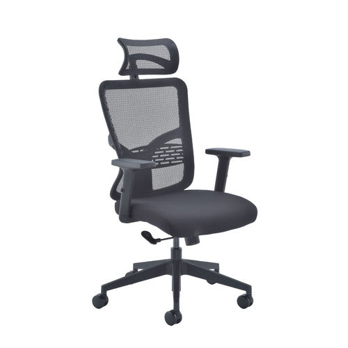 Kempes Mesh Chair - Black