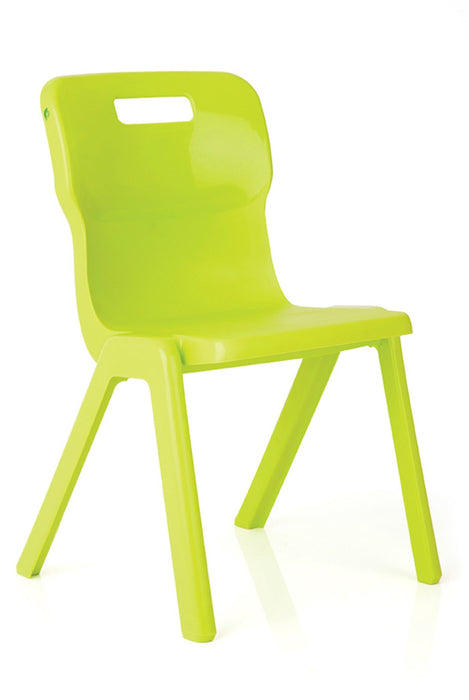 Titan One Piece Chair Size 4380mm Seat Height- Stack of 4