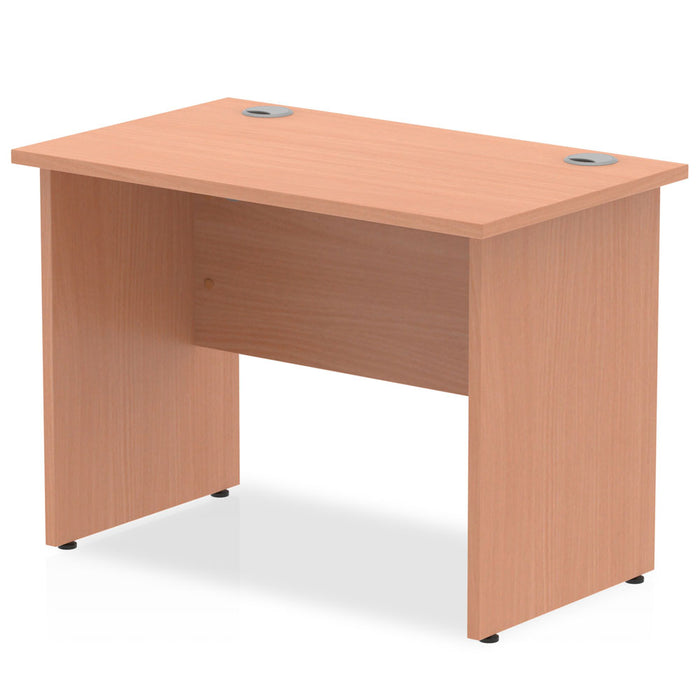 Impulse 1000/600 Rectangle Panel End Leg Desk