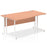 Impulse 1600 Left Hand Cantilever Leg Wave Desk
