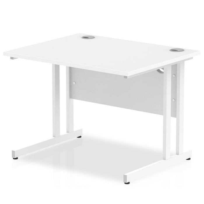 Impulse 1000/800 Rectangle Cantilever Leg Desk