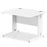 Executive Impulse 1000/800 Rectangle Cable Managed Leg Desk
