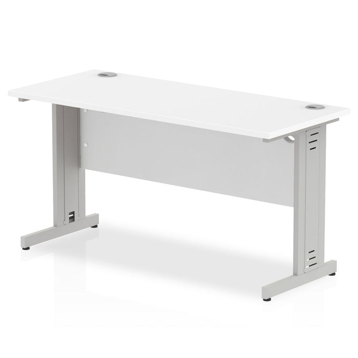 Impulse 1400/600 Rectangle Cable Managed Leg Desk