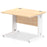 Impulse 1000/800 Rectangle Cable Managed Leg Desk