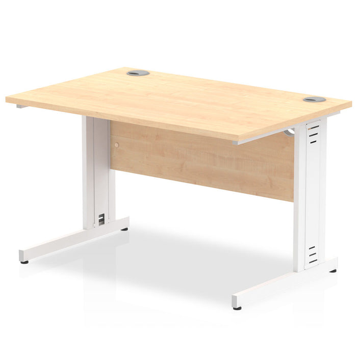 Impulse 1200/800 Rectangle Cable Managed Leg Desk