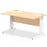 Impulse 1400/800 Rectangle Cable Managed Leg Desk