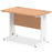 Impulse 1000/600 Rectangle Cable Managed Leg Desk