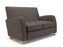 Wynne 132cm Wide Sofa Fabric Light Wood Feet