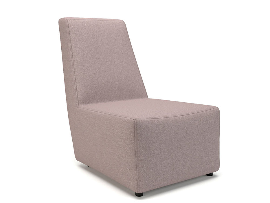 Pella 65cm Wide Chair Fabric Standard Feet