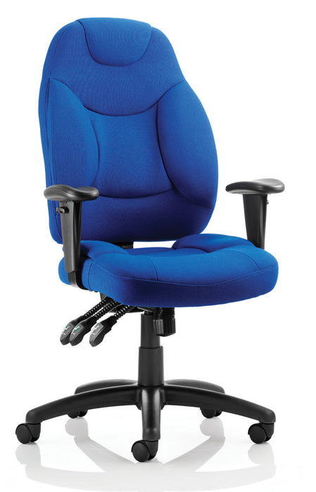 Galaxy Task Operator Chair Fabric With Arms