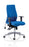 Onyx Ergo Posture Chair Blue Fabric With Arms