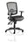 Portland III Task Operator Chair Black Mesh Back