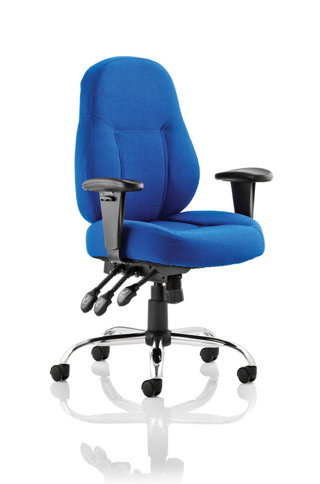 Storm Task Operator Chair Fabric With Arms