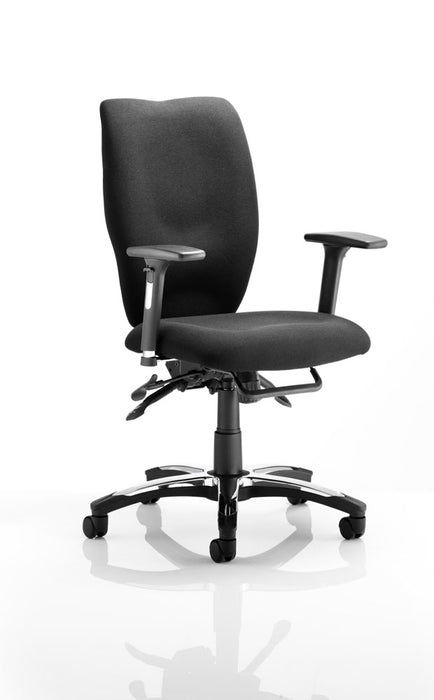 Sierra Executive Chair Fabric With Arms