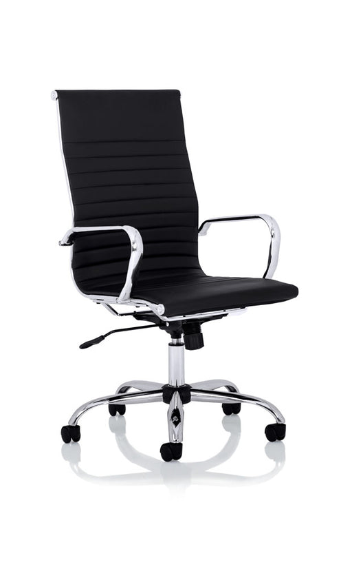 Nola High Back Black Bonded Leather Executive Chair