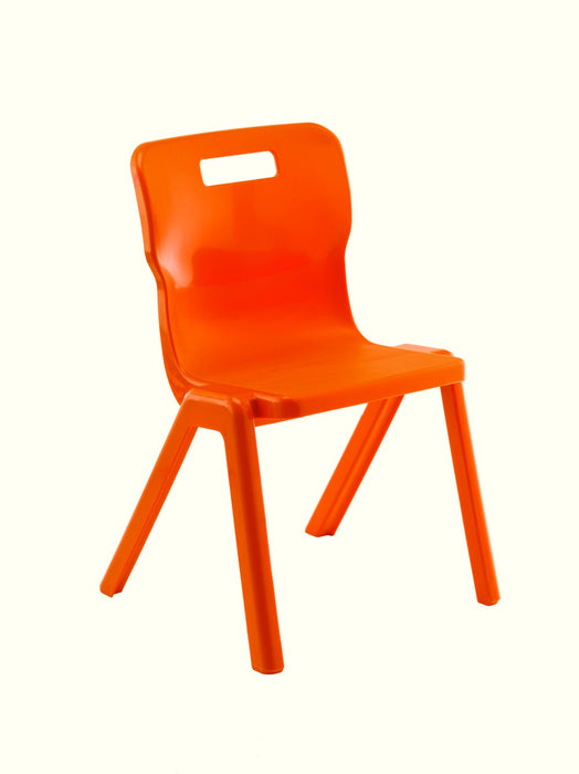 Titan One Piece Chair Size 2310mm Seat Height - Stack of 4
