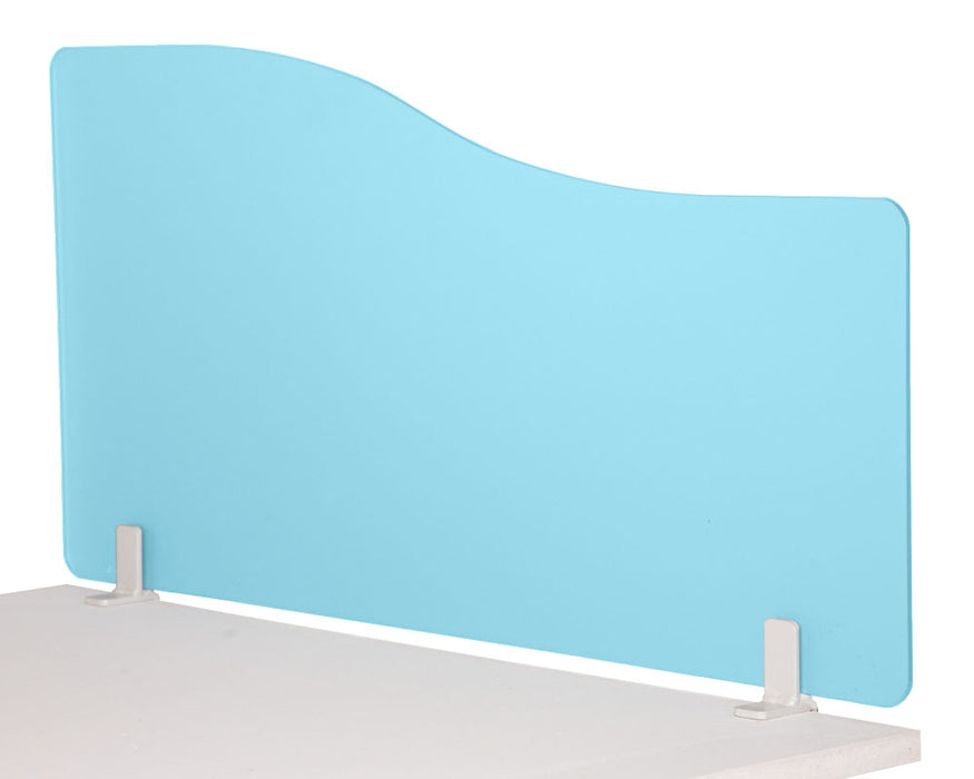400/1400 Desktop Divider Rounded Corners Frosted 6mm Acrylic