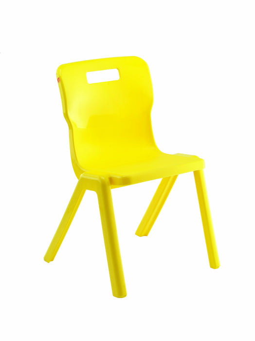 Titan One Piece Chair Size 1260mm Seat Height - Stack of 4