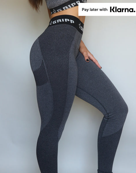 Flex Sculpt Leggings - Charcoal
