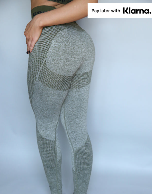 Flex Sculpt Leggings - Khaki