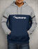 Gripp POWER Hoodie - Grey/Navy