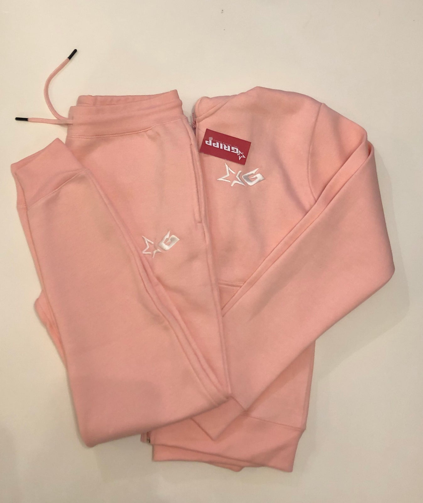 Ladies Pink Signature Tracksuit