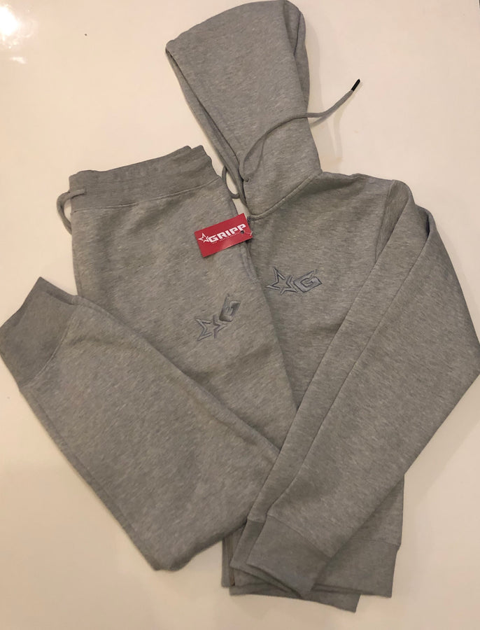 Ladies Grey Signature Tracksuit