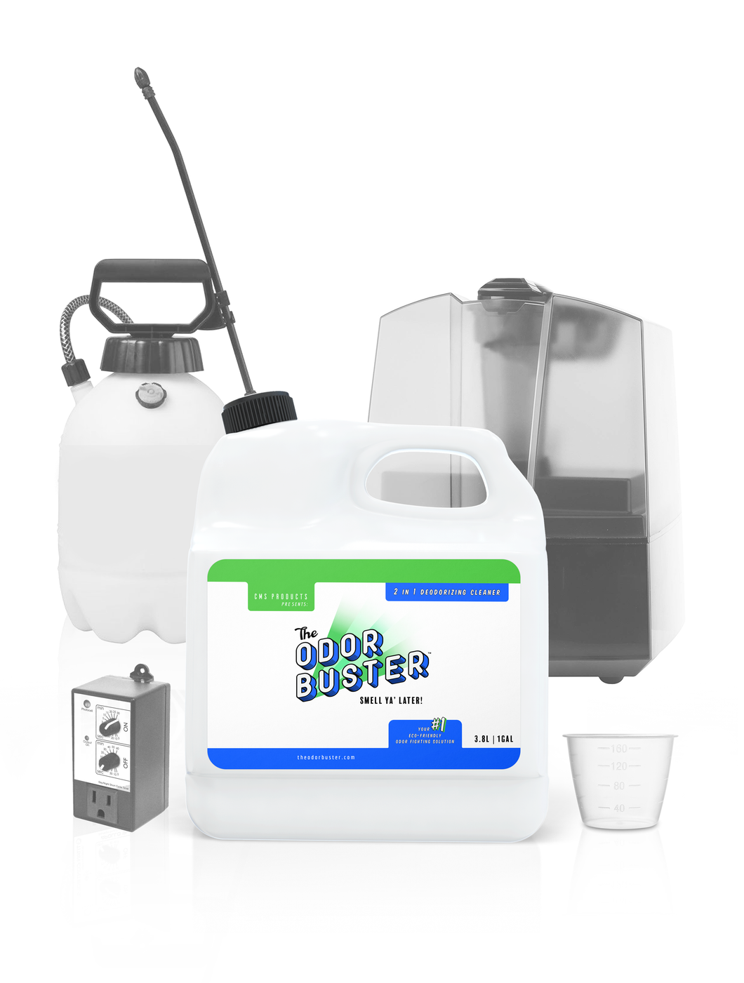 The Odor Buster Kit