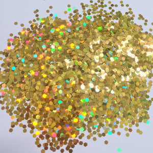 Holo Yellow *2.5mm Chunky*
