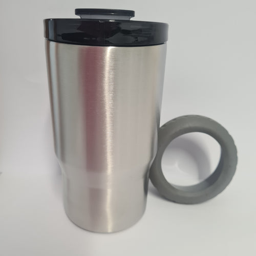 14oz Curve with screw lid and bonus can holder lid