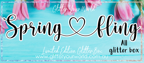 Spring Fling *LIMITED EDITION ALL GLITTER BOX*
