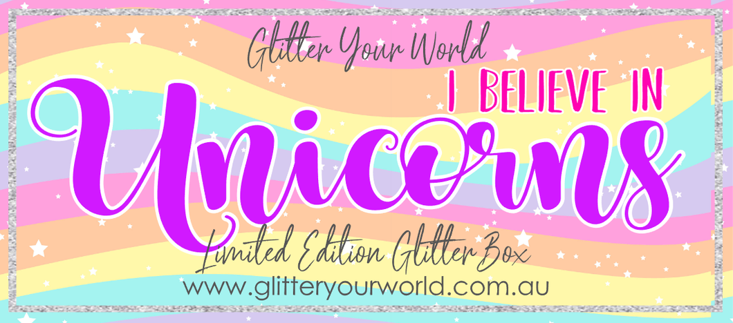 I believe in UNICORNS *LIMITED EDITION BOX* October