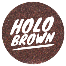 Load image into Gallery viewer, Holo Brown  *ultra fine*
