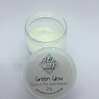 Glow In The Dark pigment - green glow