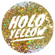 Load image into Gallery viewer, Holo Yellow *2.5mm Chunky*