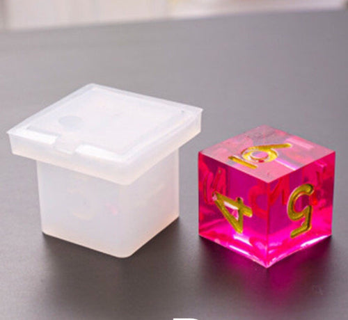 Square Dice silicone mould
