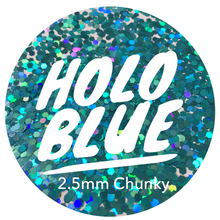 Load image into Gallery viewer, Holo Blue *2.5mm Chunky*