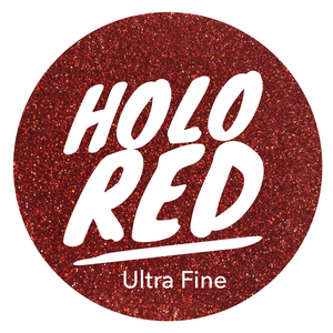 Holo Red  *ultra fine*