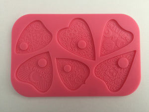 Planchette mould multi cavity