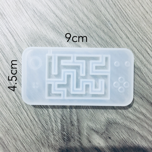Game shaker maze mould with 5pc film