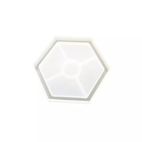 Hexagon coaster mould