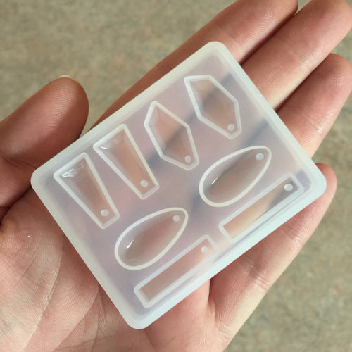 Earring moulds for resin